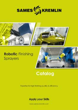 Catalog Robotic Finishing Sprayers SAMES KREMLIN (English version)