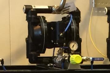(2) Pompe pneumatique PMP 150