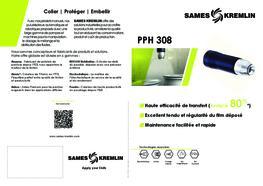 Brochure PPH308 Pistolet Automatique Electrostatique