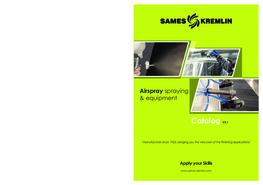 Catalog Airspray Range SAMES KREMLIN (English version)