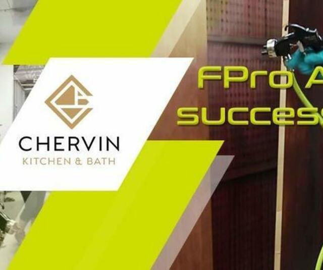 Chervin FPro spray gun success