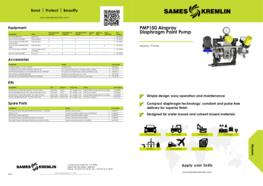 PMP150 Airspray Diaphragm Paint Pump