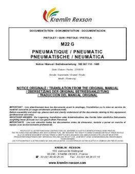 M22 G | Betriebsanleitung