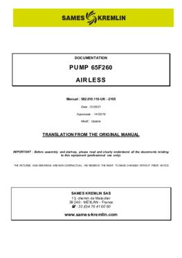 65F260 | User manual
