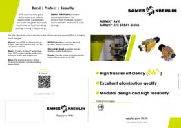 Leaflet AVX Automatic Airmix® Spray Gun (English version) SAMES KREMLIN