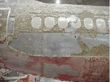 Aeronautic paint stripper