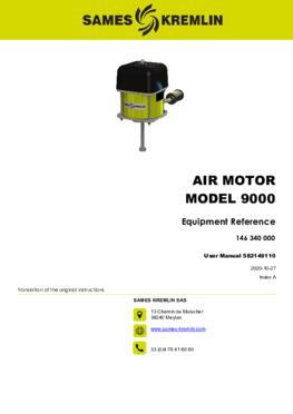Motor 9000 REXSON Dispense | User manual