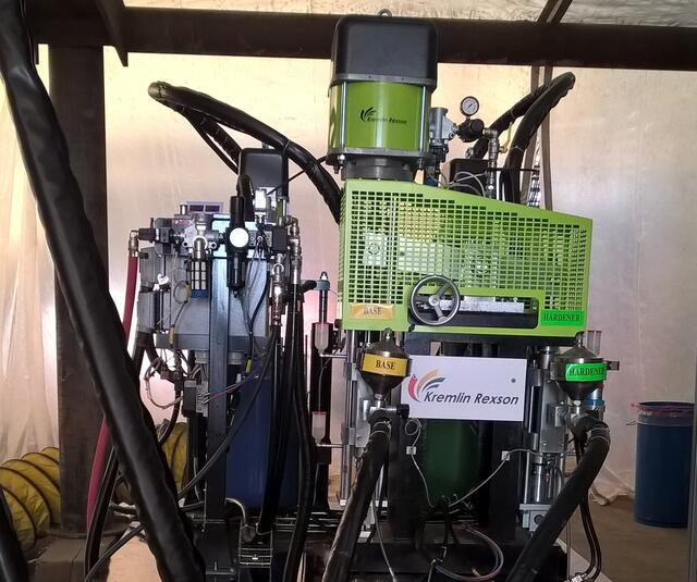 P85 unidade dosagem mecânica para produtos de alta viscosidade