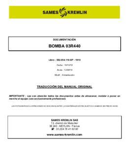 03R440 | Manual de instrucciones
