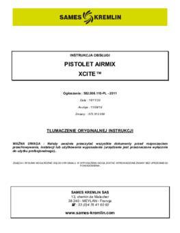 Xcite Airmix | Instrukcja