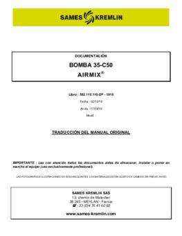 35C50  | Manual de instrucciones