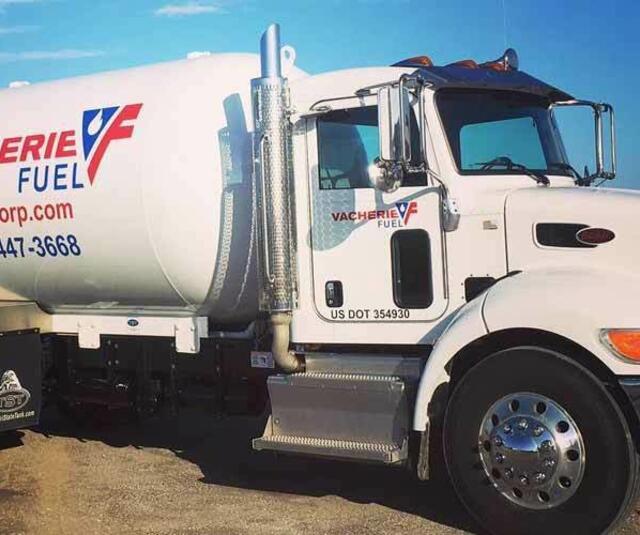 Vacherie Fuel Propane cylinders