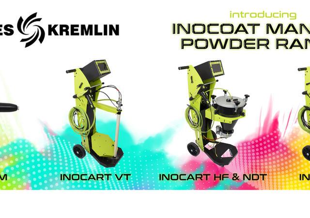 Inocoat manual powder range for North America