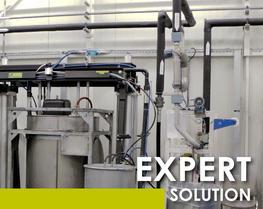 Soluzione avanzata pompaggio prodotti densi
