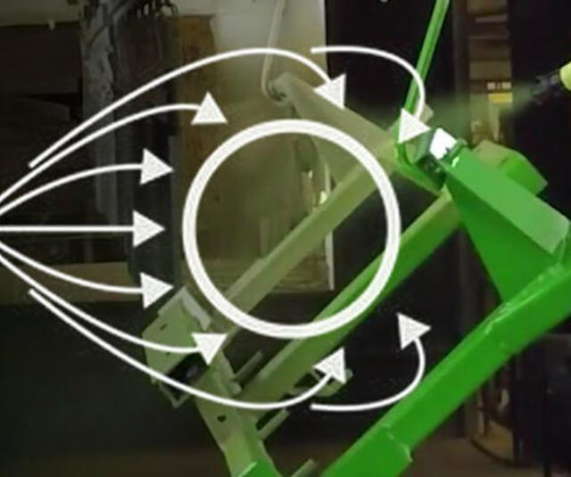 Tecnologia eletrostática da SAMES KREMLIN