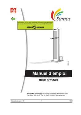 RFV 2000 | Manuel d'emploi