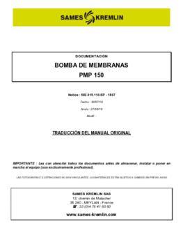 PMP 150 | Manual de instrucciones