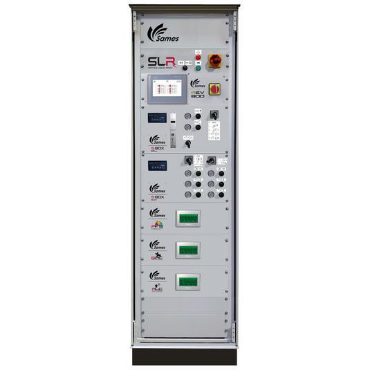 Module REV800 dans une armoire de pilotage d'installation