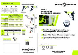 Leaflet Nanogun-MV® Manual Electrostatic Spray Gun (English version) SAMES KREMLIN