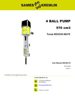 REX4B570 REXSON Dispense | User Manual