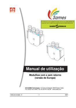 Moduflow | Manual Instruções