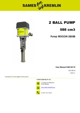 REX2B0588 REXSON Dispense | User Manual