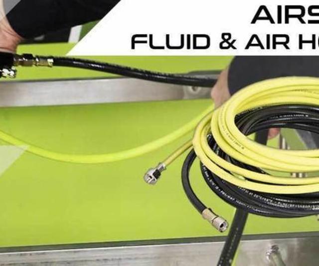 Airspray fluid and air hoses