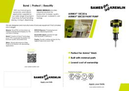 Leaflet Airmix 15C25 30C25 paint pump (english version) sames kremlin
