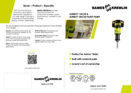 Leaflet Airmix 15C25 30C25 paint pump (english version) sames kremlin