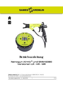 Nanogun-MX + GNM 6080 (LR - HR) | Betriebsanleitung
