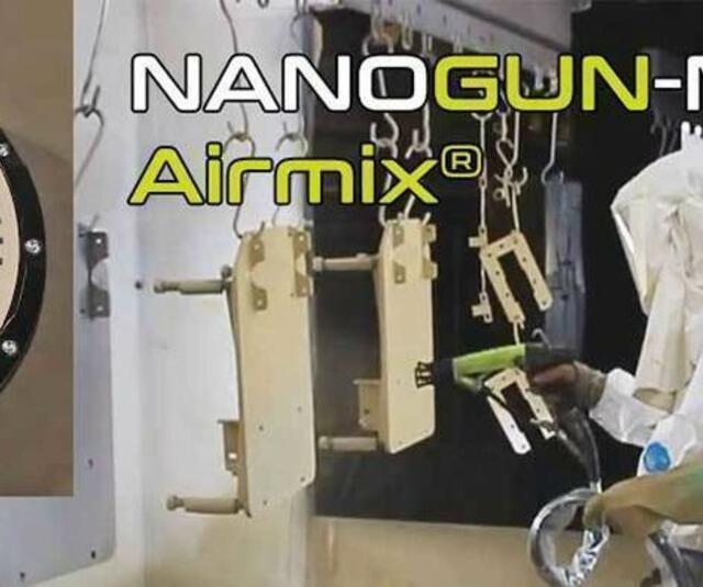The New innovative NANOGUN-MX ® Airmix ® Spray Gun