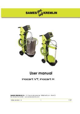 Inocart VT, Inocart H|User manual