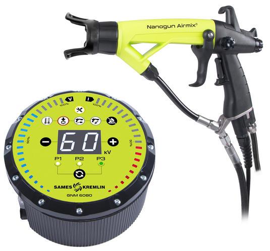 Nanogun Airmix® Pistola manuale elettrostatica