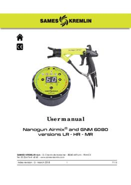 Nanogun Airmix + GNM 6080 (LR - HR) | User Manual