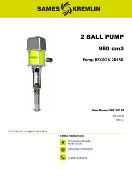REX2B980 REXSON Dispense | User Manual