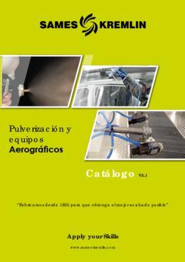 Catálogo Gama Aerográfica SAMES KREMLIN