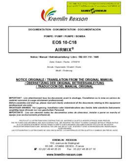 10C18 | Manual de instrucciones