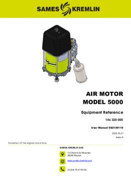 Motor 5000 REXSON Dispense | User manual