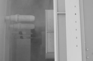 (2) Proszkowe powłoki wykończeniowe wykonane obrotowym dzwonem elektrostatycznym