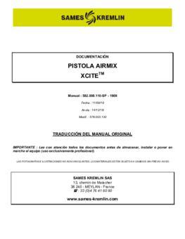Xcite Airmix | Manual de instrucciones