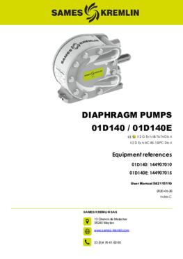 01D140 01D140E Pump | User manual