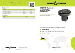 REGSMART Regulador de pressão para produtos de alta viscosidade