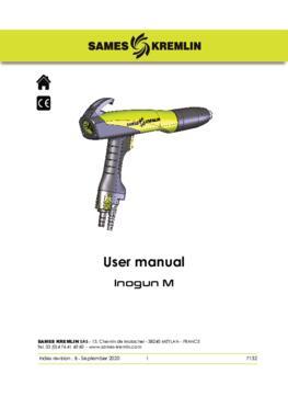 Inogun M|User manual
