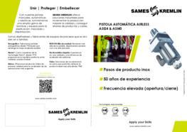 Díptico Pistola Automática Airless ASI24 & ASI40 SAMES KREMLIN