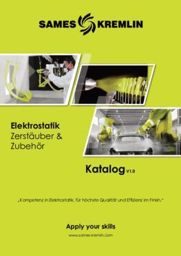 SAMES KREMLIN Katalog Elektrostatik