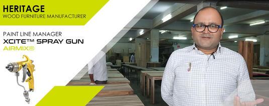 HERITAGE India Paint line manager testimony