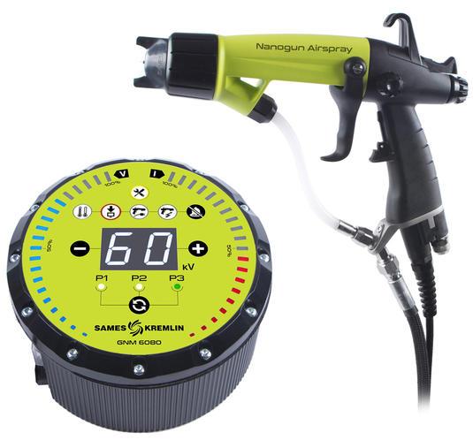 Nanogun Airspray Pistola manuale elettrostatica