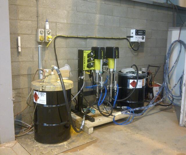 PU3000 dosing machine