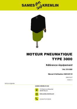 Moteur 3000 REXSON Dispense | Manuel Utilisation