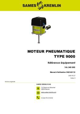 Moteur 9000 REXSON Dispense | Manuel Utilisation